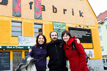 Frente a la Brotfabrik
