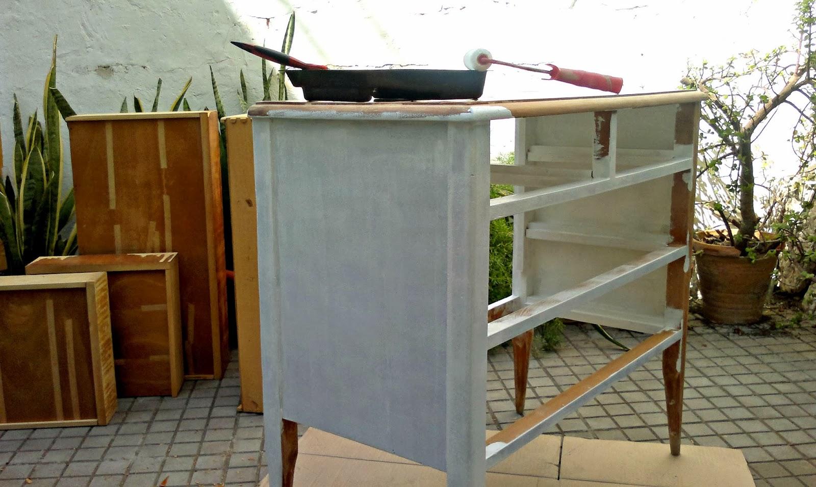 La buhardilla decoraci n dise o y muebles antes y - Masilla para reparar madera ...