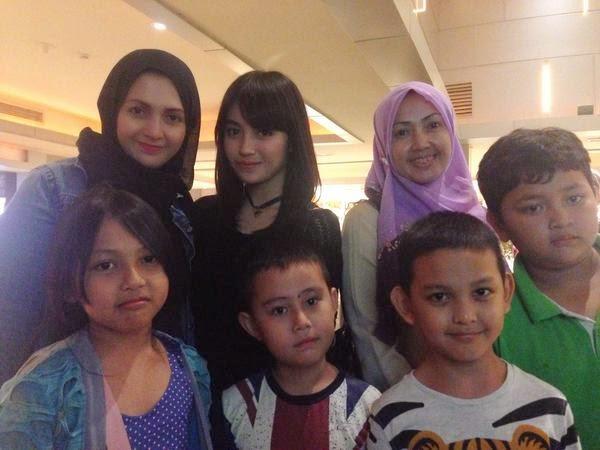 Foto Nabilah JKT48 Setelah Nobar Film Wewe