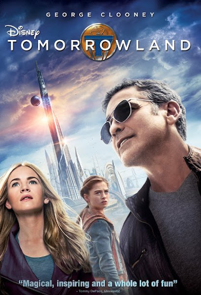 Poster Of Tomorrowland 2015 720p BRRip English