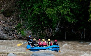 kris tv ay white water rafting davao city