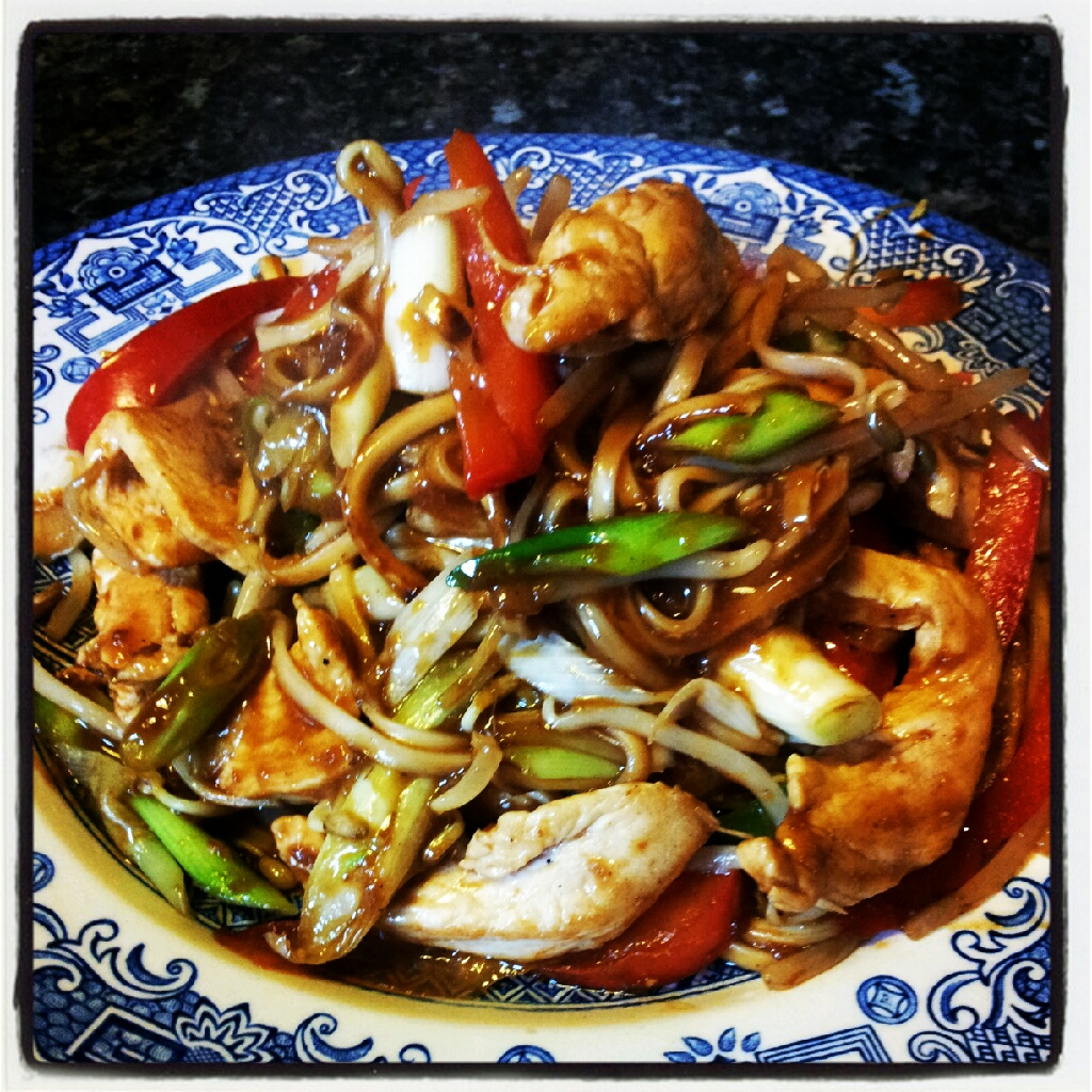 Bbc good food chicken chow mein 366 recipe challenge low fat low carb and simple forumfinder Image collections