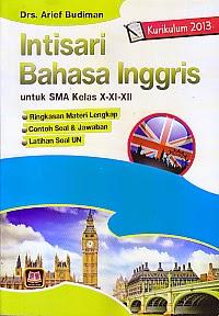 toko buku rahma: buku INTISARI BAHASA INGGRIS SMA, pengarang arief budiman, penerbit pustaka setia