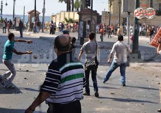 3 قتلى و107 مصاب نتيجة اشتباكات محيط مسجد القائد إبراهيم بالاسكندرية اليوم 26/7/2013
