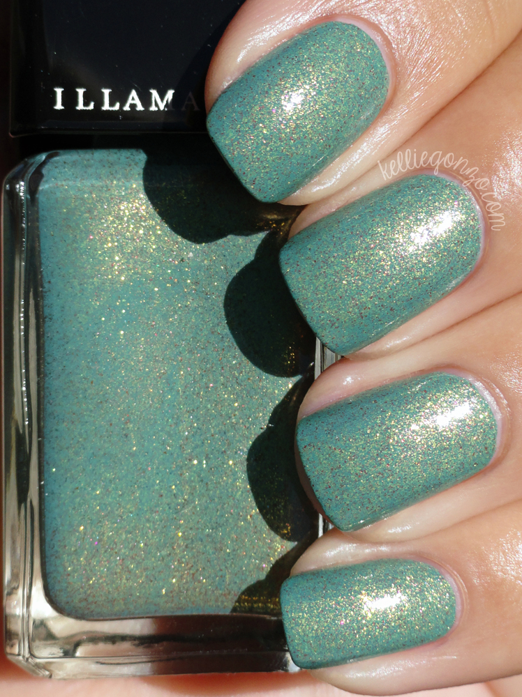 Illamasqua Melange Once... collection green nail polish
