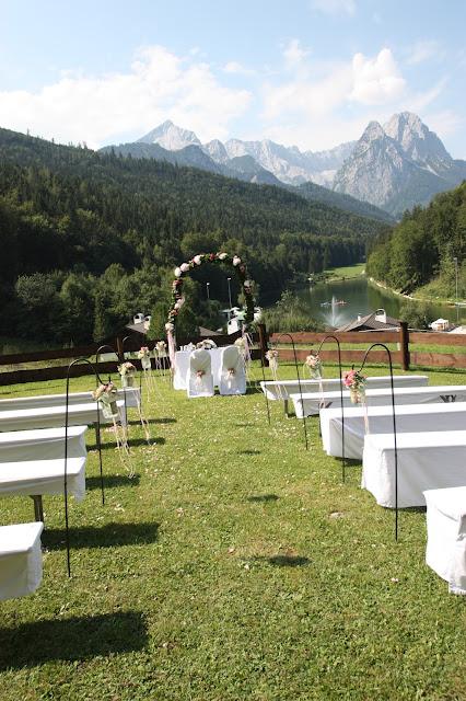 Hochzeitswiese am Riessersee in Garmisch-Partenkirchen