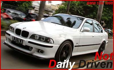 Modified BMW 528i