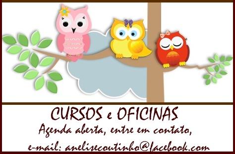 AGENDA P/ CURSOS E OFICINAS