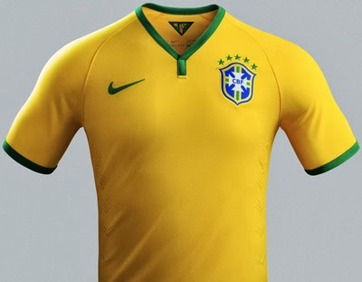 camisa seleção brasileira de futebol 2014