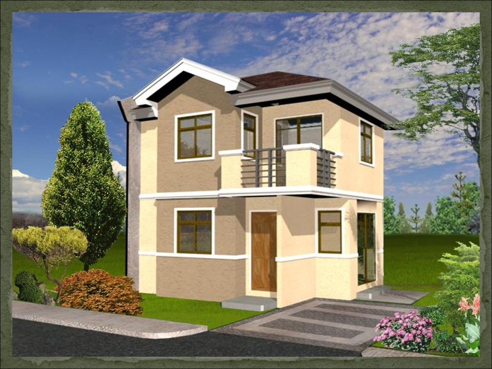 Maureen dream home designs of lb lapuz architects for Cheap house plans designs