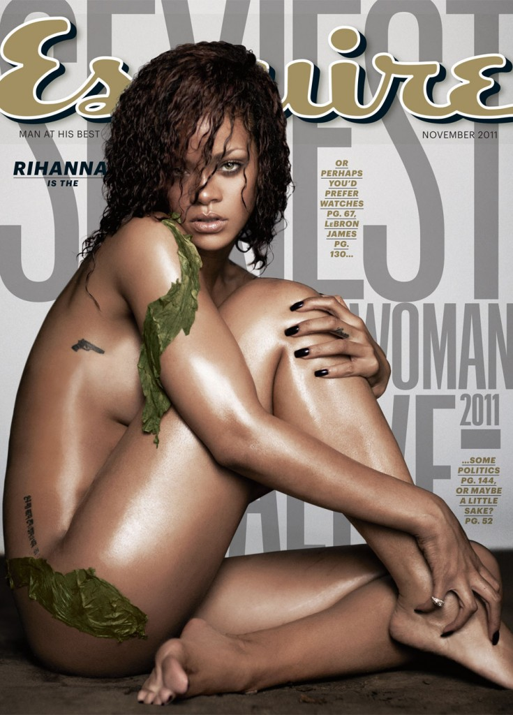 Rihanna On The Cover of Esquire