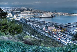 Edurne Iza, Barcelona abierta al mar