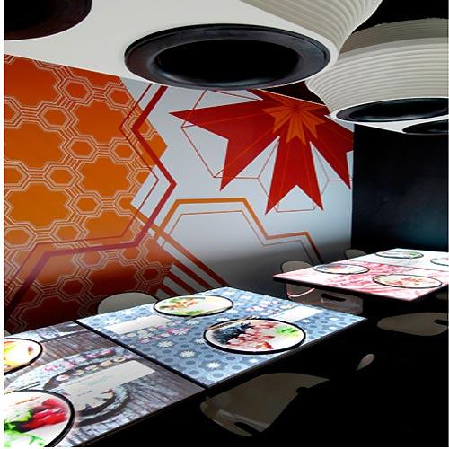 In design magz futuristic concept modern restaurant