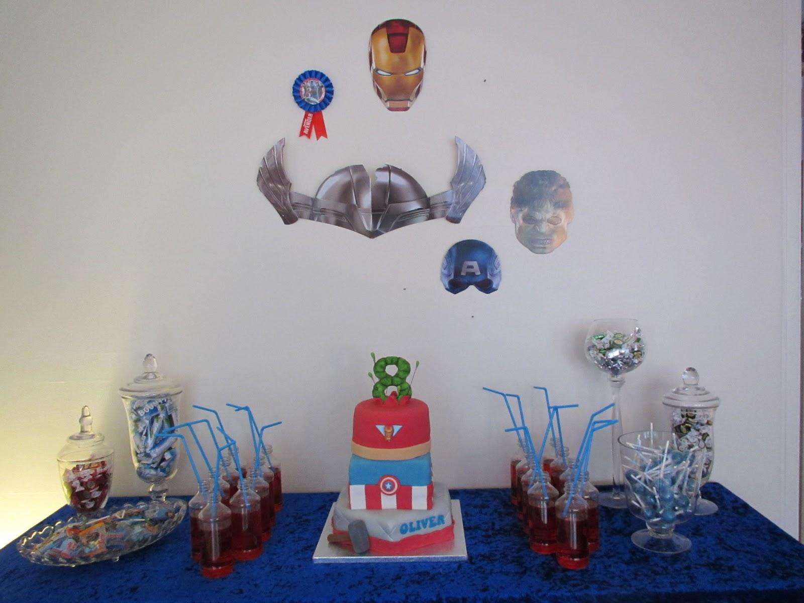 avengers fødselsdag