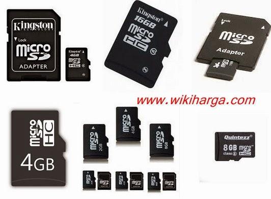 Harga Micro sd semua merk dan kapasitasnya