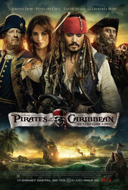 Pirates Of The Caribbean On Stranger Tides Film Poster
