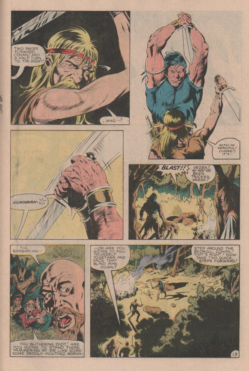 Conan the Barbarian (1970) Issue #160 #172 - English 14
