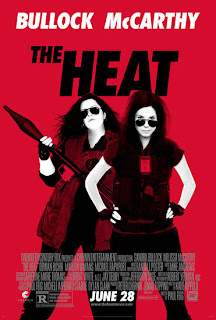 The Heat poster with Sandra Bullock and Melissa McCarthy
