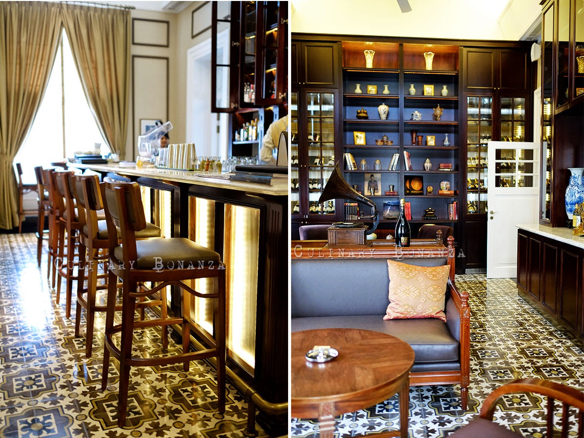 Cigar Lounge & Bar at The Hermitage Hotel in Menteng Jakarta