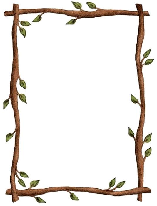 Marcos en hojas blancas - Imagui