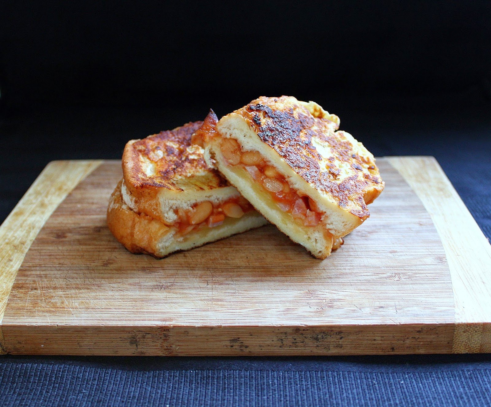 This baked bean French toast is not only delicious but is made with ...