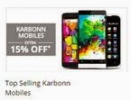 Paytm: Extra 15% off on Karbonn Mobiles for Rs. 0