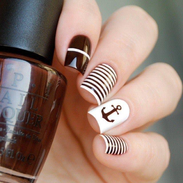 Four White Nails Art  | Nails