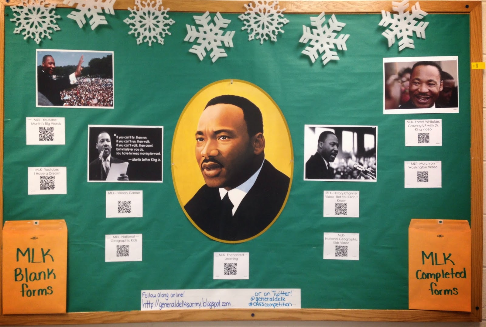 Bulletin Board Ideas: Martin Luther King Jr. - We All Have Dreams ...