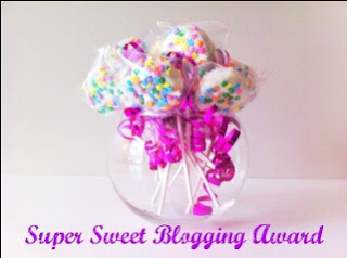 nuovo premio! super sweet blogging award!