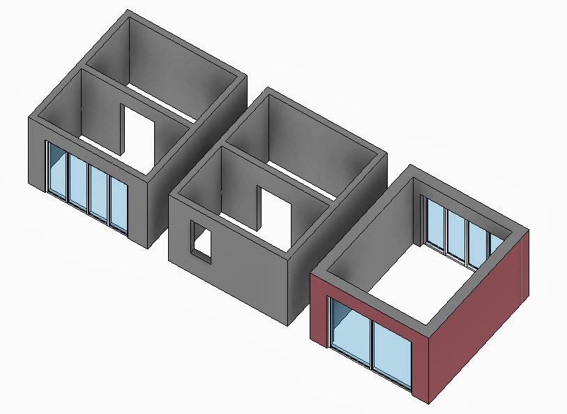 revit oped wall openings and room area rh revitoped blogspot com opening in wall between living room and kitchen opening in wall to let air or light