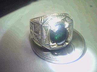 Batu Cincin  Kalimaya Green ( Hijau )