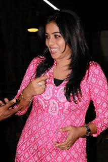 Poorna Latest Stills @ Viththagan Movie Press Show Event (8)