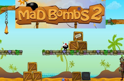 Mad Bombs 2 walkthrough.