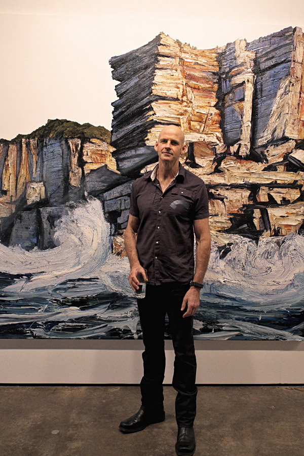 Artist Portrait, Neil Frazer at Martin Browne Contemporary - Breaker exhibition 2012