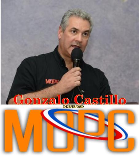GONZALO CASTILLO, VOLCANDO EL MOPC HACIA LAS COMUNIDADES PARA SU DESARROLLO