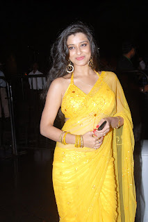 Telugu+actress+Madhurima+Yellow+Saree001 Telugu Actress Madhurima in Yellow Saree Photo Gallery