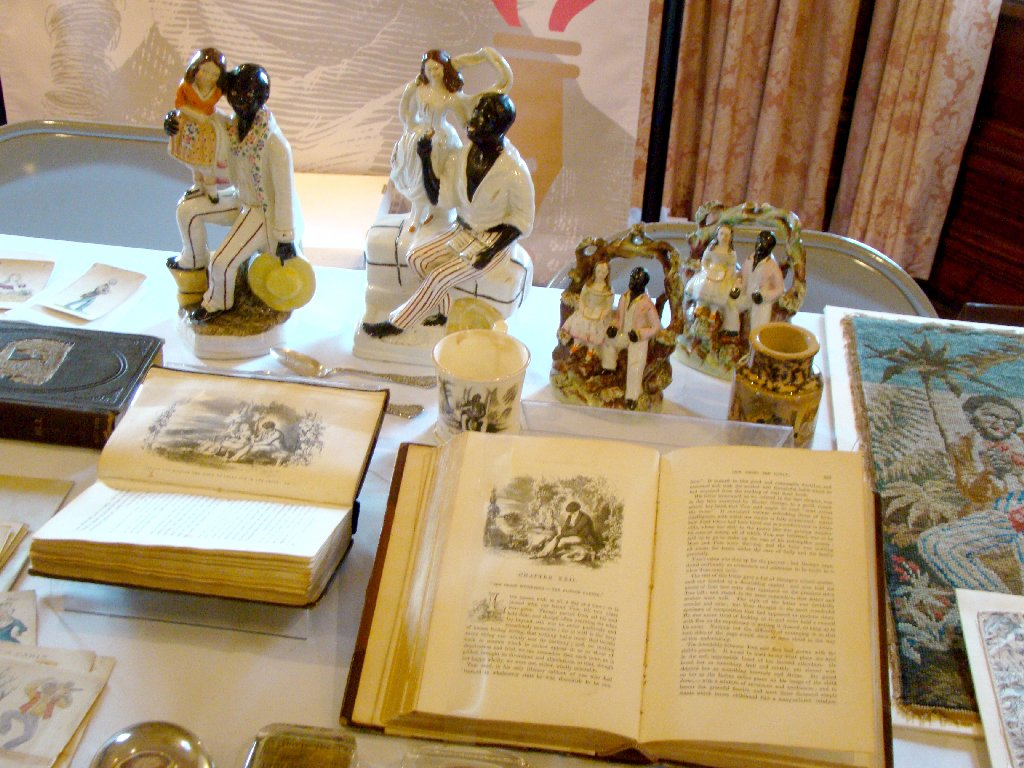 racial innocence show and tell at the stowe center here are some staffordshire figurines and different editions of uncle tom s cabin all of which i discuss at length in racial innocence