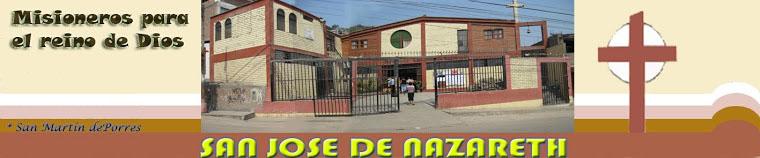 BIENVENIDOS AL PORTAL DE SAN JOSÉ DE NAZARET