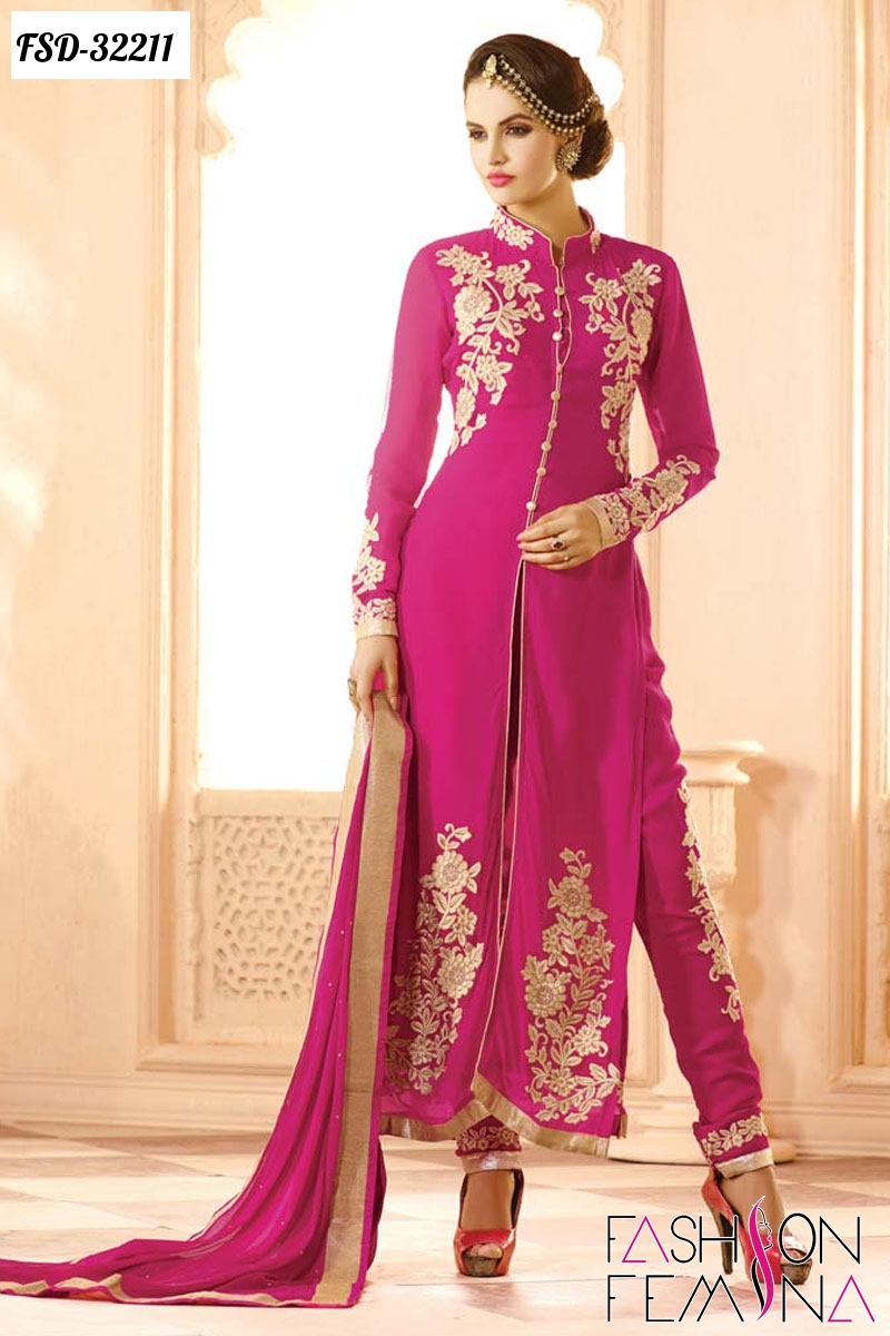 fashion femina: Top Ten Designer Party Wear Salwar Suits Collection ...