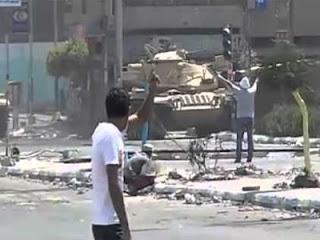 Mesir porak poranda setelah kudeta