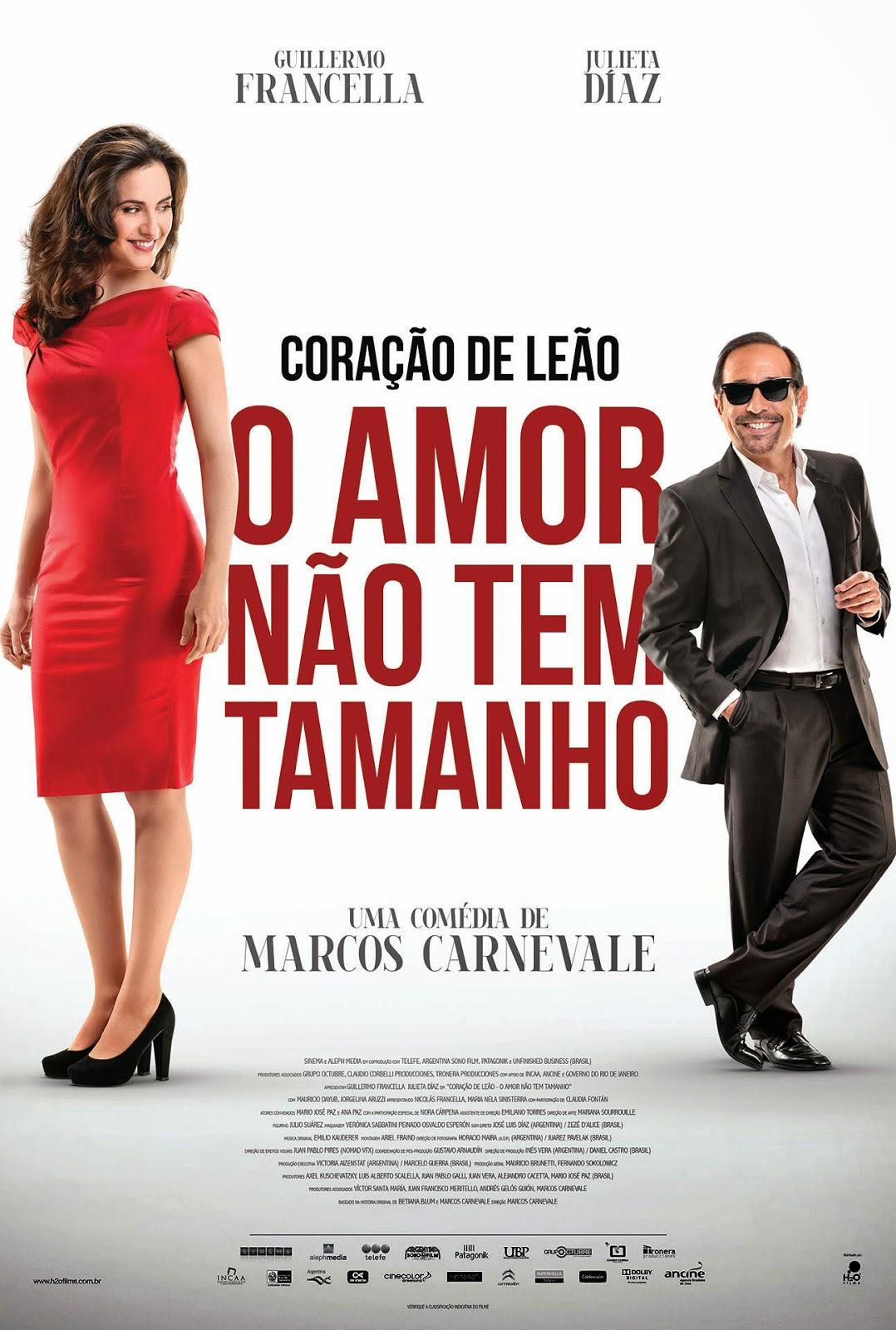 Download - Coração de Leão - O Amor Não Tem Tamanho - Dublado (2014)
