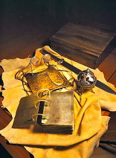 Items unburied by Joseph Smith