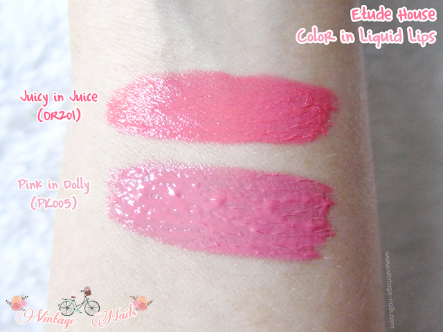 Etude House, color in liquid lips, korean cosmetics, cosmetica coreana