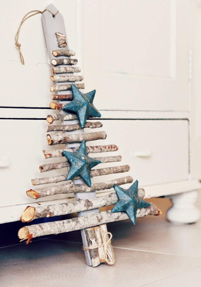 wooden tree, diy wooden tree