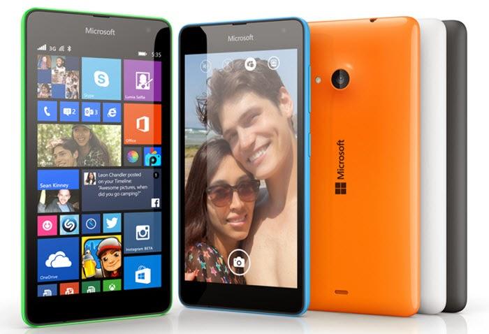 Sản phẩm Microsoft Lumia đầu tiên: Lumia Denim (Microsoft Lumia 535)