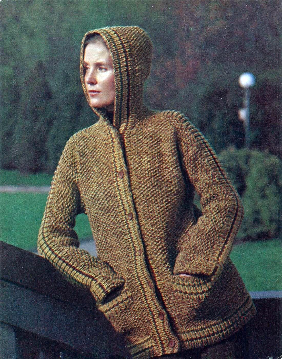 Вязание крючком куртка женская 81