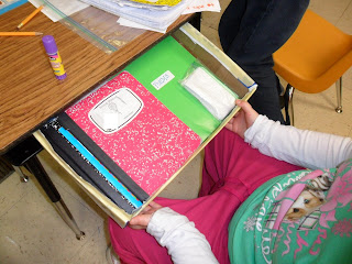 Ot tools for public schools pull out drawer for - School desk organization ideas ...