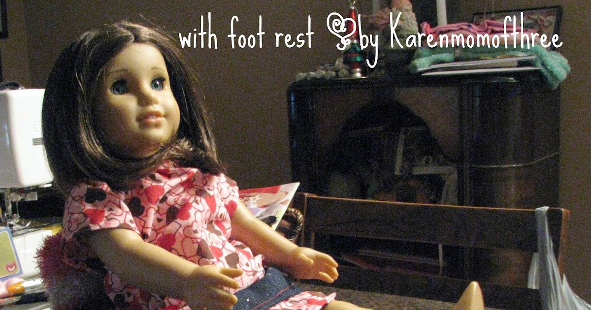 Karen Mom Of Three S Craft Blog How To Make A Doll Chair