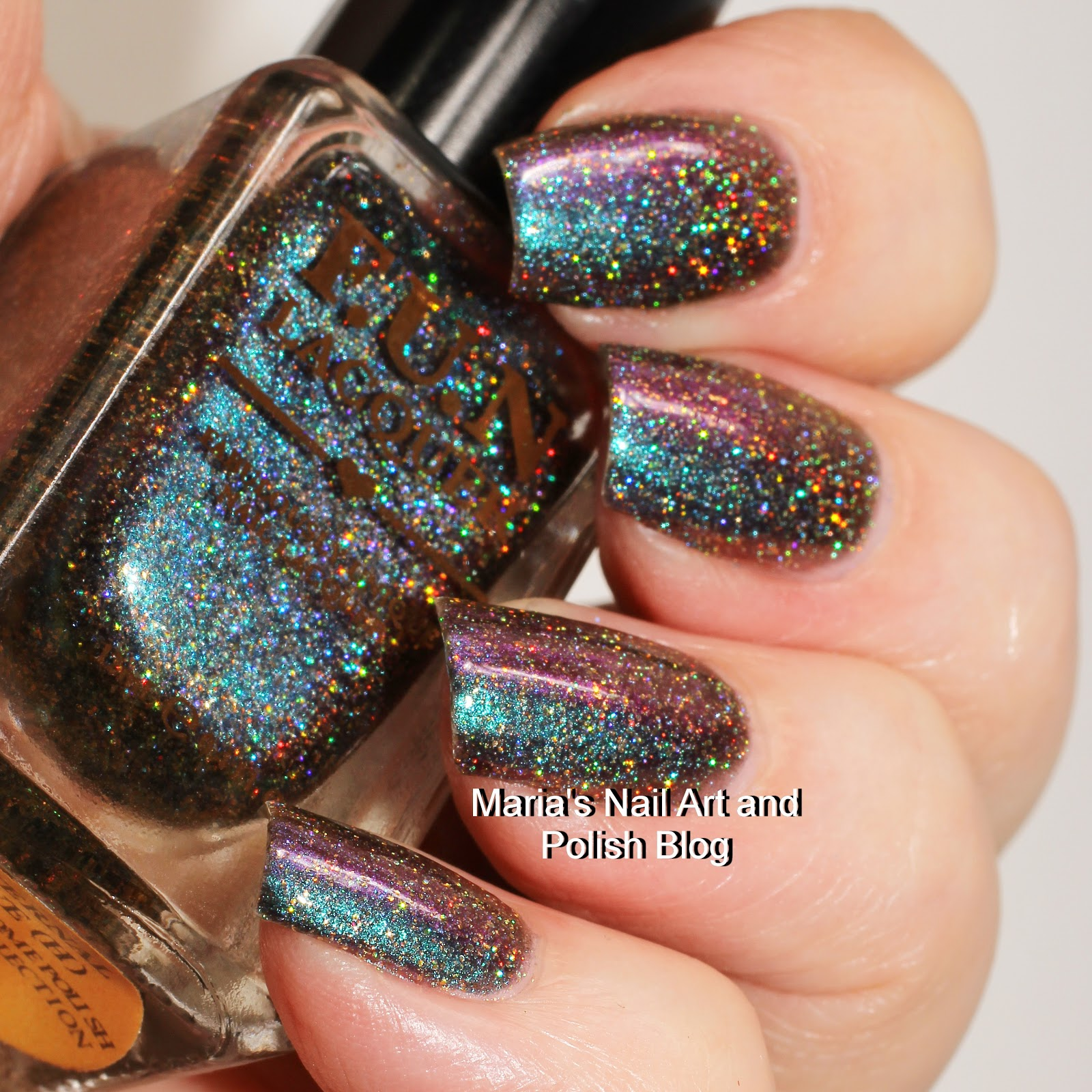 Marias Nail Art and Polish Blog: F.U.N Lacquer Eternal Love (H) swatches