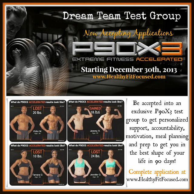 P90X3 Exclusive Challenge Group - Beachbody - www.HealthyFitFocused.com  -  www.teambeachbody.com/JulieLittle